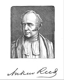 Andrew Reed (minister) British clergyman