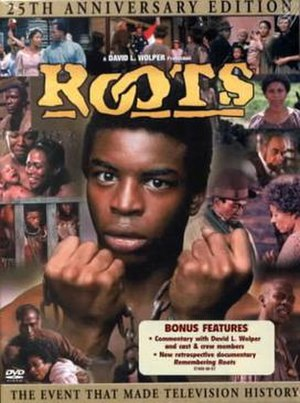 Roots (1977 miniseries) - 25th Anniversary DVD cover, 2001