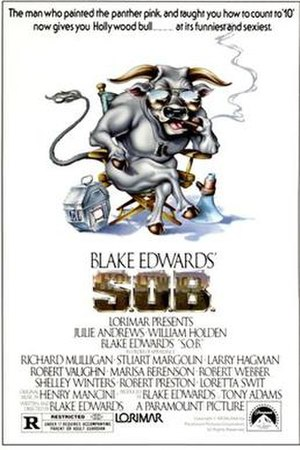 S.O.B. (film) - Theatrical release poster by John Alvin