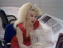 Sandra Dickinson as Trillian from the TV adaptation.