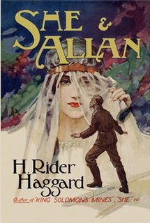 <i>She and Allan</i> book by Henry Rider Haggard