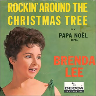 Rockin' Around the Christmas Tree - Image: Single Brenda Lee Rockin' Around the Christmas Tree cover