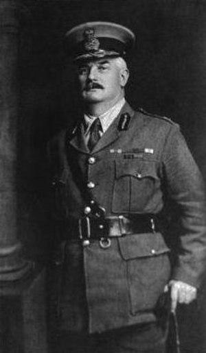 Alfred William Robin - Major General Sir Alfred William Robin