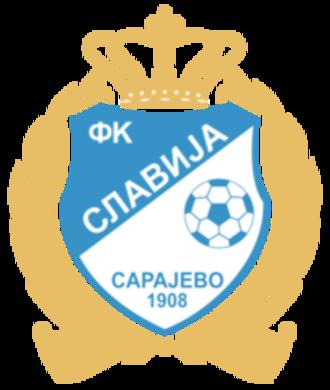 FK Slavija Sarajevo - Image: Slavijasrpskosarajev ologo
