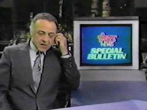 Special Bulletin - Ed Flanders as RBS anchor John Woodley.