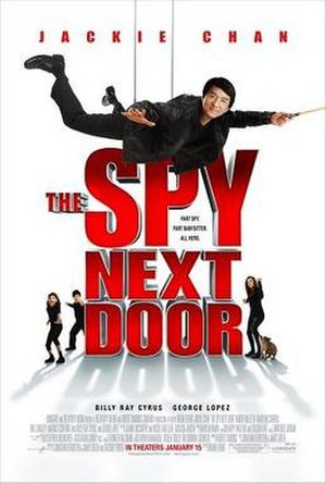 The Spy Next Door - Theatrical release poster