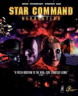 Front cover of the Star Command: Revolution box