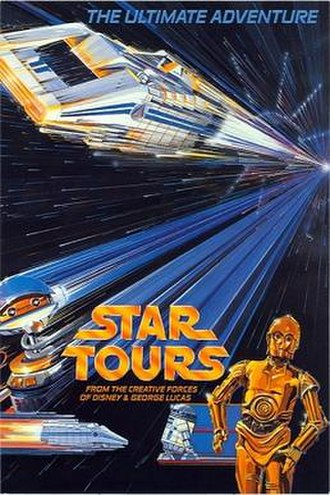 Star Tours - Image: Star Tours poster