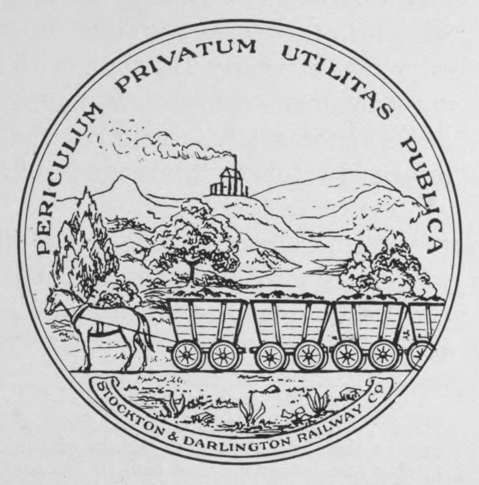Stockton and Darlington seal (en)