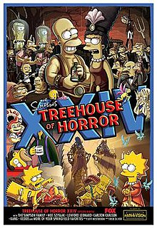 Treehouse of Horror XXIV 2nd episode of the twenty-fifth season of The Simpsons