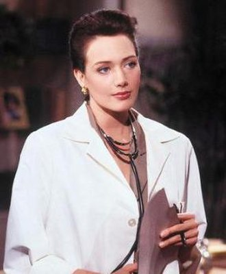 Taylor Hayes (The Bold and the Beautiful) - A promotional still of Taylor during her first episode in 1990.
