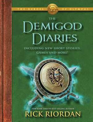 The Demigod Diaries - First edition cover