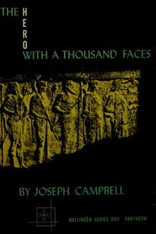The Hero with a Thousand Faces, by Jospeh Campbell - Cover of the 1st edition