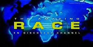 The Amazing Race en Discovery Channel 2 - Image: The Amazing Race on Discovery Channel 2 logo