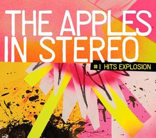 <i>Number 1 Hits Explosion</i> 2009 greatest hits album by The Apples in Stereo