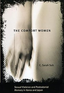 <i>The Comfort Women</i> book by Chunghee Sarah Soh