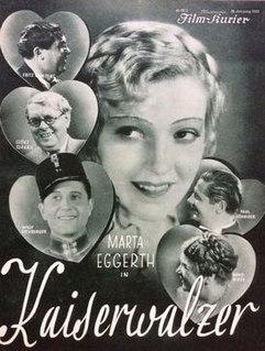<i>The Emperors Waltz</i> (1933 film) 1933 film
