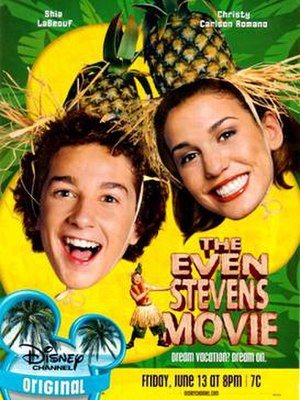 The Even Stevens Movie - Promotional poster