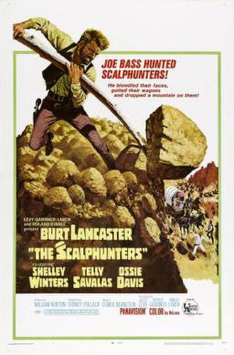 The Scalphunters - Image: The Scalphunters poster