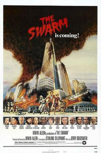 The Swarm (film) - Theatrical release poster