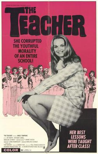 The Teacher (1974 film) - Image: The Teacher 1974 film