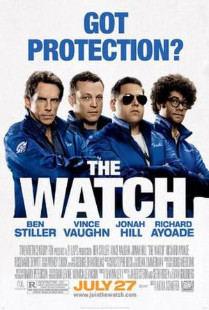 The Watch (2012 film) - Theatrical release poster