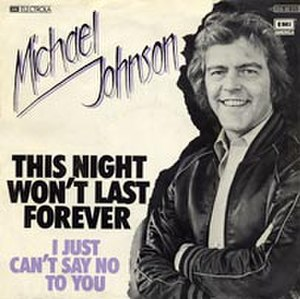 This Night Won't Last Forever - Image: This Night Won't Last Forever Michael Johnson