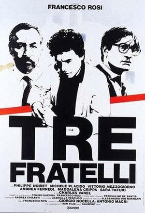 Three Brothers (1981 film) - Film poster