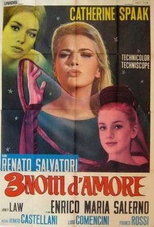 Three Nights of Love - Film poster