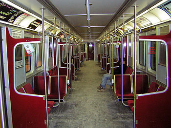 Toronto Transit Commission subway car