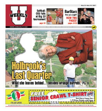 1870 (magazine) - Image: U Weekly 5 23 2007