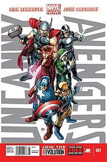 <i>Uncanny Avengers</i> Comic book series