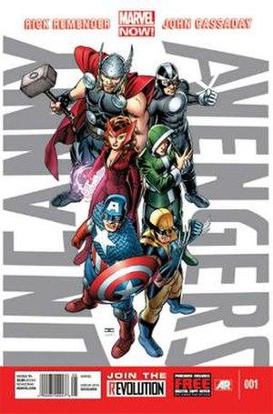 Uncanny Avengers - Image: Uncanny Avengers
