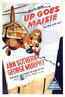 <i>Up Goes Maisie</i> 1946 film by Harry Beaumont