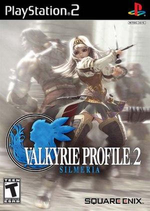 Valkyrie Profile 2: Silmeria - Image: Valkyrie Profile Silmeria logo