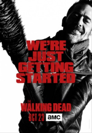 The Walking Dead (season 7) - Promotional poster and home media cover art