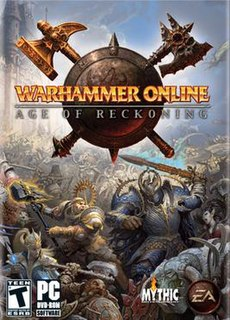 <i>Warhammer Online: Age of Reckoning</i> video game