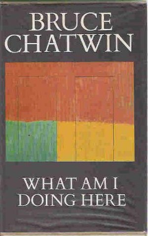 What Am I Doing Here (book) - First edition