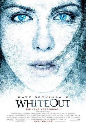 Whiteout (2009 film) - Theatrical release poster