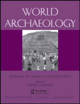 World Archaeology - Image: World Archaeology journal cover 2007