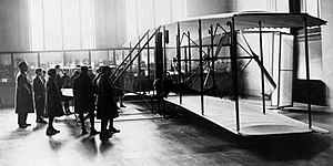 Wright Flyer - Wright Flyer was exhibited at the Science Museum, London 1928–1948