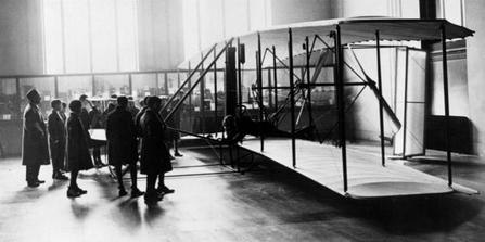 Wright Flyer at the Science Museum London