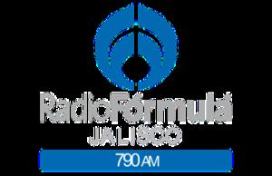 XEGAJ-AM - Image: XEGAJ Radio Formula 790 logo