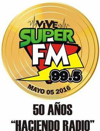 XHMS-FM - Image: XHMS Super FM99.5 logo