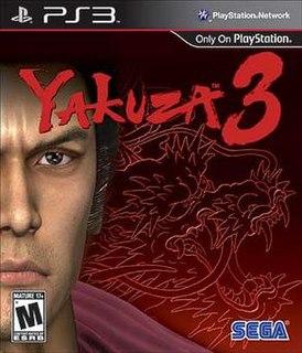 <i>Yakuza 3</i> 2009 video game by Sega