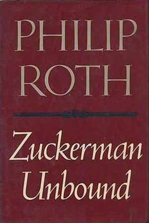 Zuckerman Unbound - First edition cover