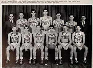 1945–46 Illinois Fighting Illini men's basketball team - Image: 1945–46 Illinois Fighting Illini men's basketball team