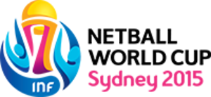 2015 Netball World Cup - Image: 2015 Netball World Cup logo