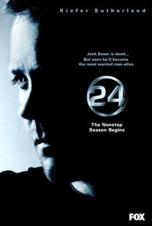 24 (season 5) - Promotional poster