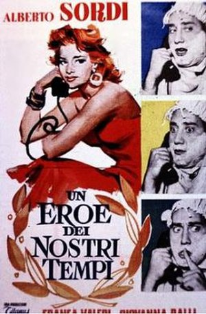 A Hero of Our Times - Italian poster